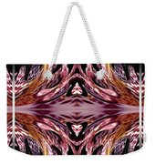 Empress Abstract Triptych Weekender Tote Bag