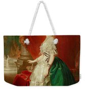 Empress Eugenie Of France 1826-1920 Wife Of Napoleon Bonaparte IIi 1808-73 Oil On Canvas Weekender Tote Bag