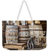 Emptied Barrels Weekender Tote Bag