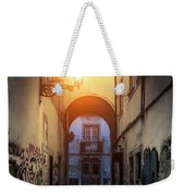 Empty Alley Weekender Tote Bag