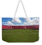 Empty American Football Stadium Weekender Tote Bag