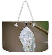 Empty Butterfly Chrysalis Weekender Tote Bag