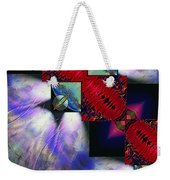 Empty Hearted Sky Weekender Tote Bag