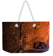 Empty Seat On A Hill Weekender Tote Bag