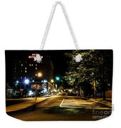Along The Cobblestone Weekender Tote Bag