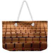 Empty Theater Chairs In Ventura Arts Weekender Tote Bag
