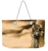 Emu Portrait Weekender Tote Bag