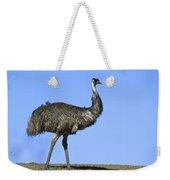 Emu Portrait Sturt National Park Weekender Tote Bag