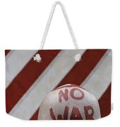 War Protest Weekender Tote Bag