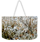 Encased In Ice Weekender Tote Bag