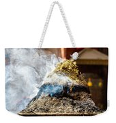Encens Burning Weekender Tote Bag