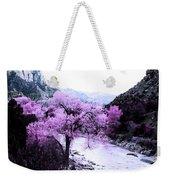 Enchanted Pink Weekender Tote Bag