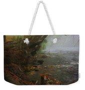 Enchanted River In The Mist Weekender Tote Bag