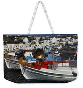 Enchanted Spaces Mykonos Greece 2 Weekender Tote Bag