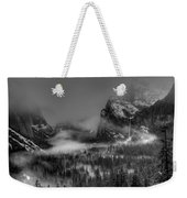Enchanted Valley In Black And White Weekender Tote Bag