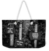 Encore Pipe Trio Weekender Tote Bag