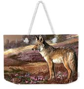 Encounter With The Iron Hors  Weekender Tote Bag