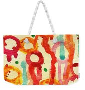 Encounters 3 Weekender Tote Bag