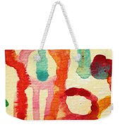 Encounters 5 Weekender Tote Bag