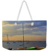 End Of Day At The Bay Weekender Tote Bag