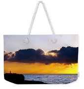 End Of Day On The Pacific Weekender Tote Bag