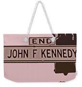 End Of John F Kennedy Street In San Francisco Weekender Tote Bag