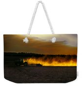End Of The Day In The Field Weekender Tote Bag