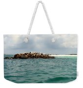 End Of The Jetty Weekender Tote Bag