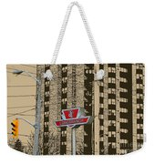 End Of The Line At Long Branch Weekender Tote Bag