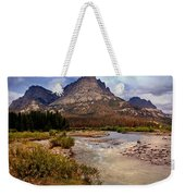 End Of The Road Mountain Weekender Tote Bag