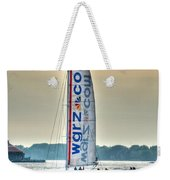 End Of The Tour Back To Shore Weekender Tote Bag