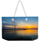 End To The Day Weekender Tote Bag