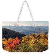 Endless Autumn Mountains Weekender Tote Bag