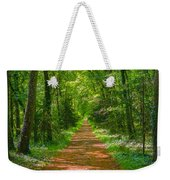 Endless Trail Into The Forest Weekender Tote Bag