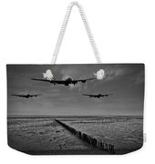 Enemy Coast Ahead Skipper Black And White Version Weekender Tote Bag
