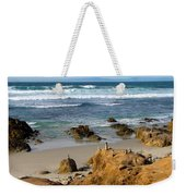 Energizing Seascape At Spanish Bay Weekender Tote Bag