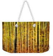 Energy Of The Forest Autumn Color Weekender Tote Bag