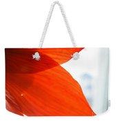 Enfolding In Orange Weekender Tote Bag