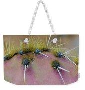 Engelmanns Prickly Pear Cactus Weekender Tote Bag