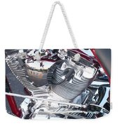 Engine Close-up 4 Weekender Tote Bag