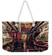Engine Room Queen Mary 02 Weekender Tote Bag
