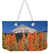 2d10688-engineer Mountain In Fall  Weekender Tote Bag