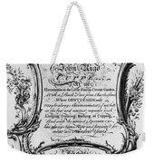 England: Cupper, 1700s Weekender Tote Bag by Granger