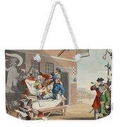 England, Illustration From Hogarth Weekender Tote Bag