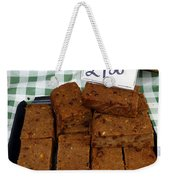 English Bread Pudding Weekender Tote Bag