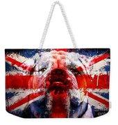 English Bull Dog Weekender Tote Bag