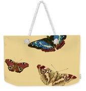 English Butterflies Weekender Tote Bag