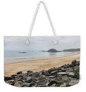 English Channel Beach Weekender Tote Bag