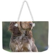 English Cocker Spaniel Dog Weekender Tote Bag