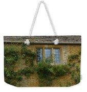 English Cottage Window Weekender Tote Bag